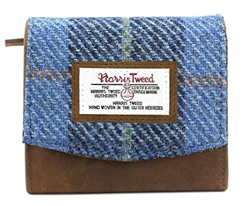 Amazon.com: Harris Tweed - Bolso de piel y tartán, color ...