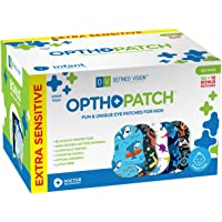 Infants Extra Sensitive Adhesive Eye Patch Boys 100 Pack Series II