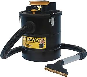 Dustless Technologies D0015 Pit Hawg Ash Vacuum, Black/Yellow
