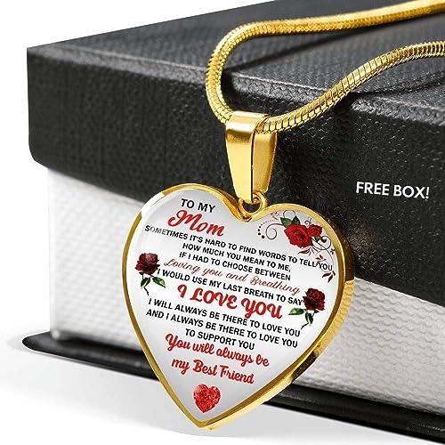 Amazon.com: Awesome - Collar con colgante de corazón de ...