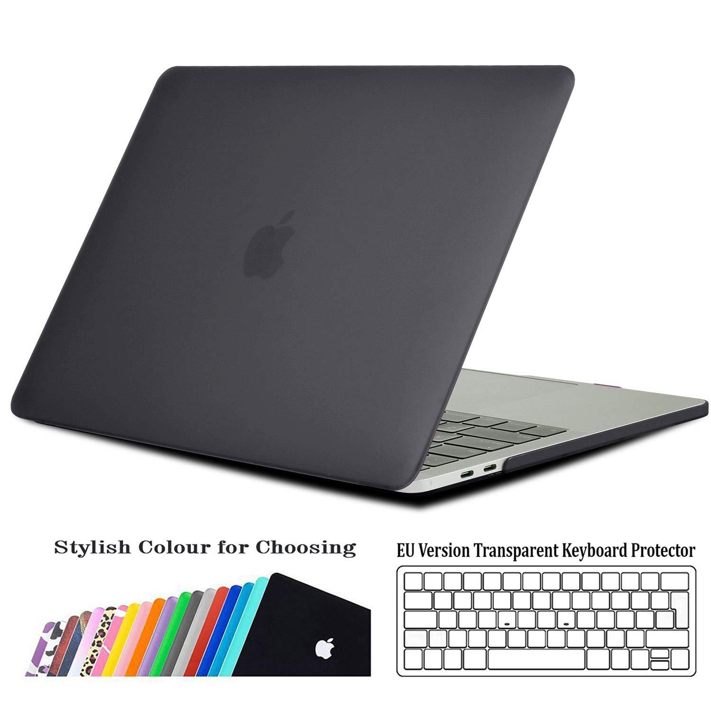 iNeseon MK2MP1613B-CL Case Cover e EU Versione Trasparente Tastiera Copertina per MacBook PRO 13