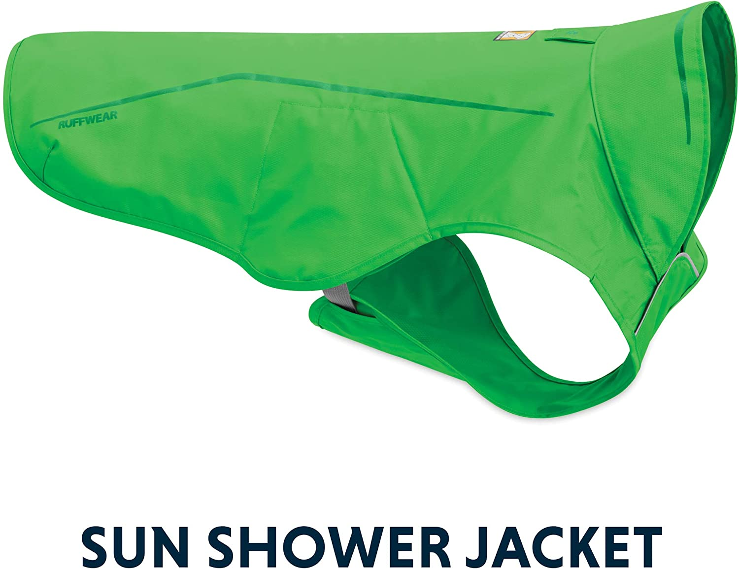 RUFFWEAR - Sun Shower Lightweight Waterproof Rain Jacket for Dogs