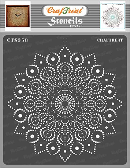 circles stencils pattern background scrapbook craft paint art pochoir for wood canvas color template new 5 CIRCLE STENCIL TEMPLATE