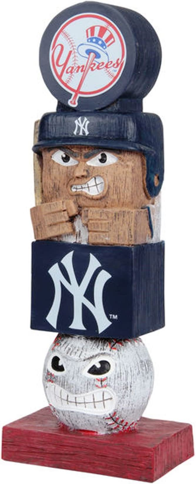 Inc Pittsburgh Pirates Tiki Totem Pole 16 Outdoor Garden Statue Decoration Baseball Rico Industries