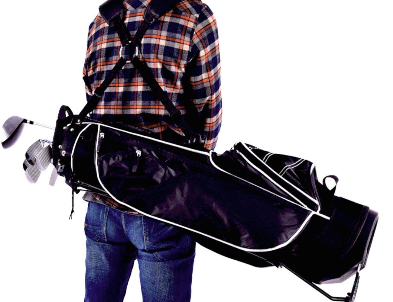 STS - Supplies Ltd Pole Vaultメンズのバッグゴルフクラブキャディ旅行女性用アクセサリーレディースカートスタンドLiteホルダー3オーガナイザー& eBook by alltim3shopping。   B07G3PM15P