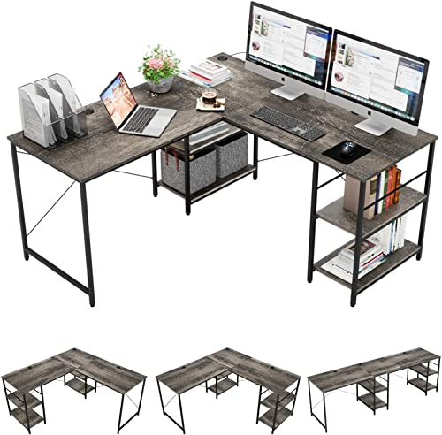 Bestier L-Shaped Desk