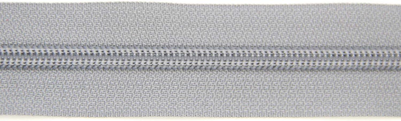 NTS N/ähtechnik 45 cm separable 1 cremallera de pl/ástico gris 5 mm