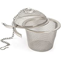 Okayji Stainless Steel Tea Filter Infuser, 6.5cm, Silver