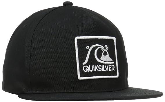 finest selection 202bc ff308 Quiksilver Men s GRAF Snapback Hat, Black, One Size