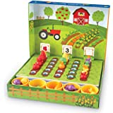 Learning Resources Veggie Farm Sorting Set, Pretend Play Food, 46 Pieces, Ages 3+