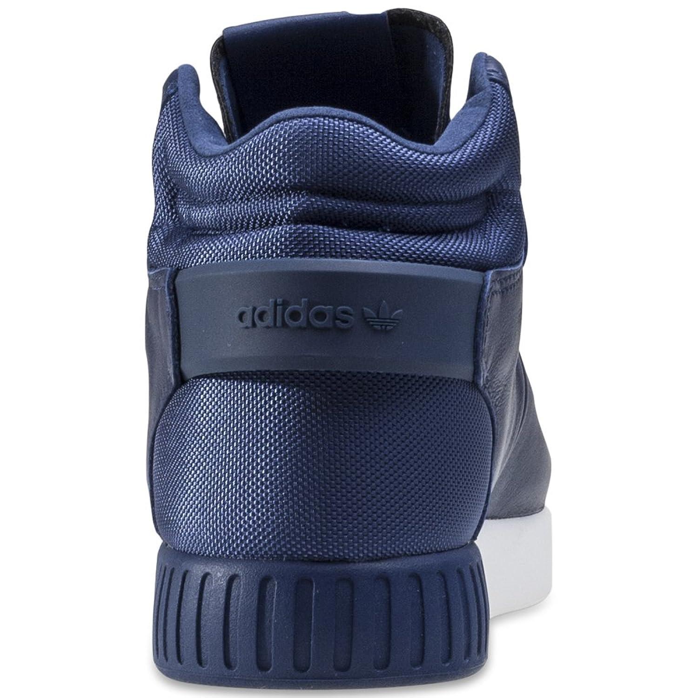 adidas Tubular Invader, Chaussures de Gymnastique Homme, Verde (Ngtcar/Ngtcar/Vinwht), 43 1/3 EU