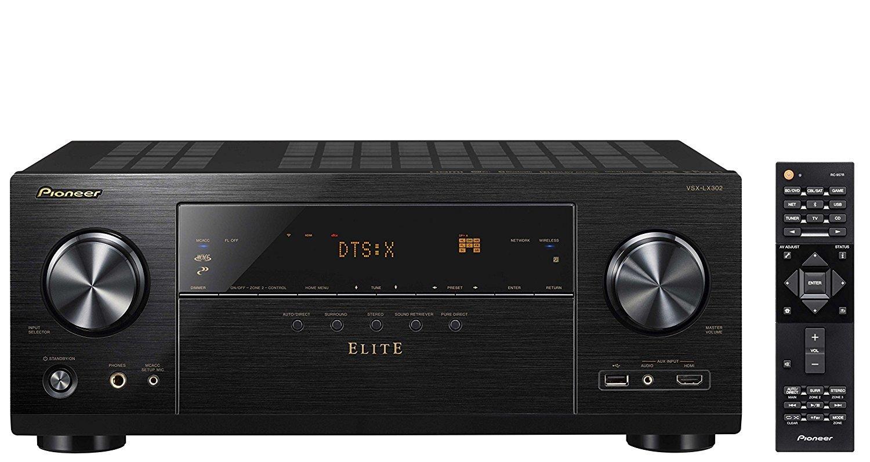 Pioneer Elite Audio & Video Component Receiver black (VSX-LX302) by Pioneer