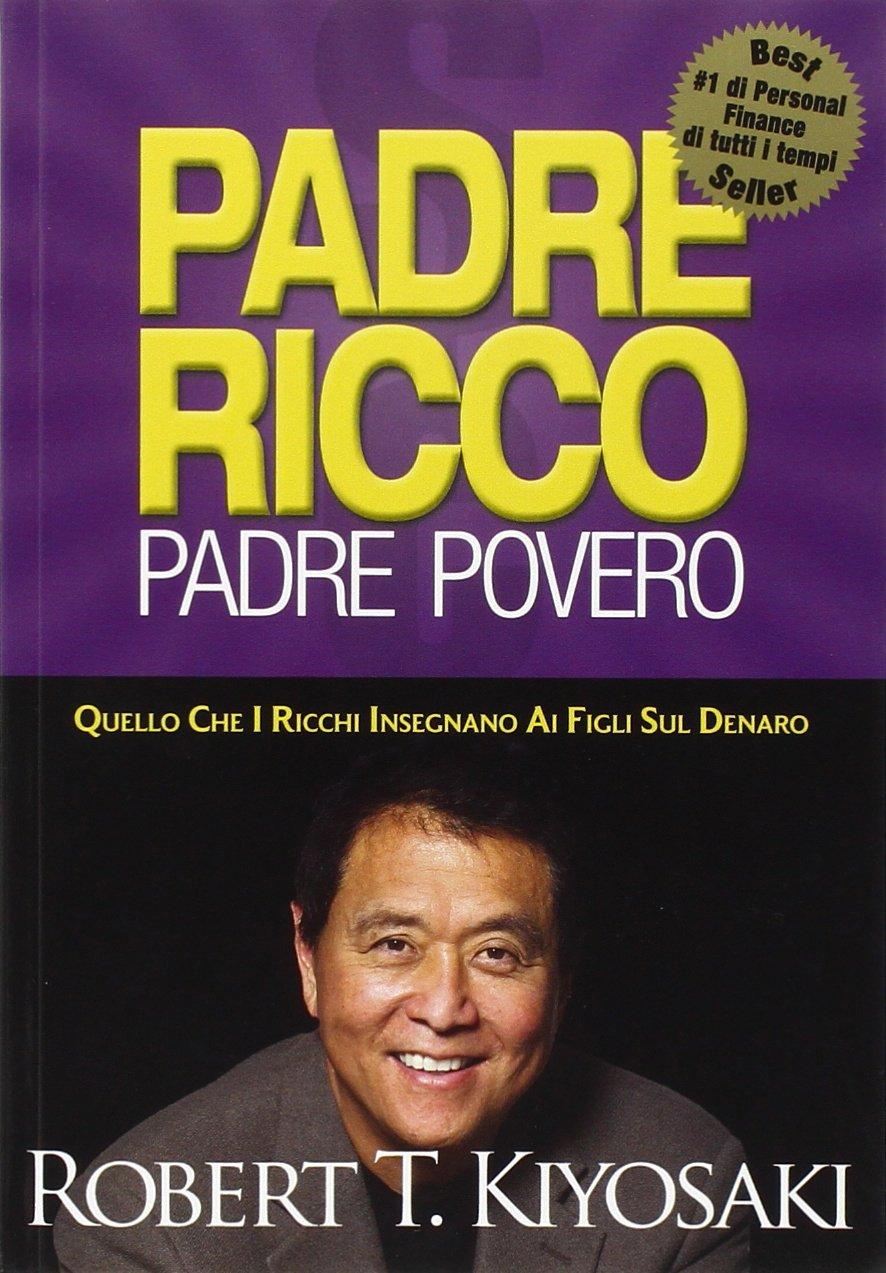 Copertina Libro Padre ricco padre povero