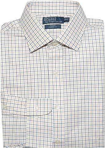 Polo Ralph Lauren para hombre Regent Classic Fit camisa cuadros ...