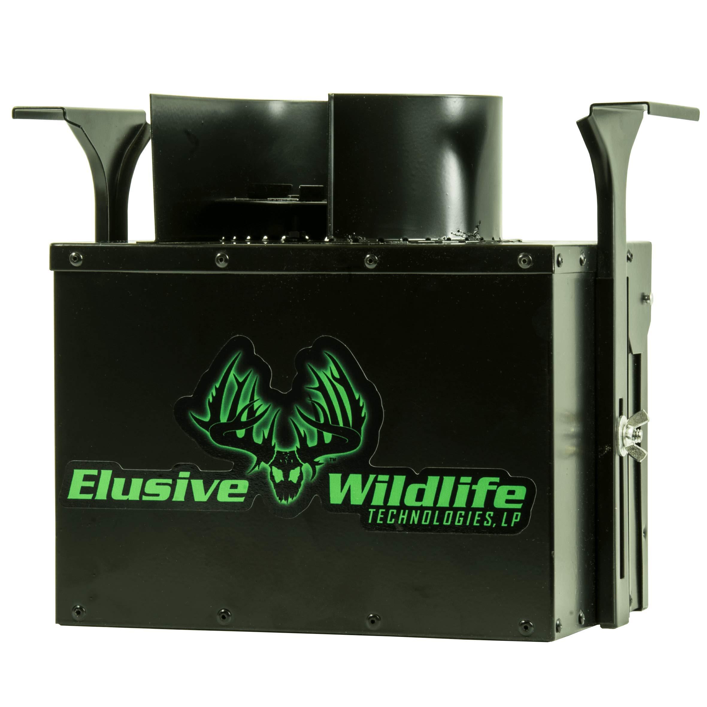 Elusive Wildlife Directional Feeder Control Unit with Timer (Black, Directional Feeder Control Unit with Timer) by Elusive Wildlife