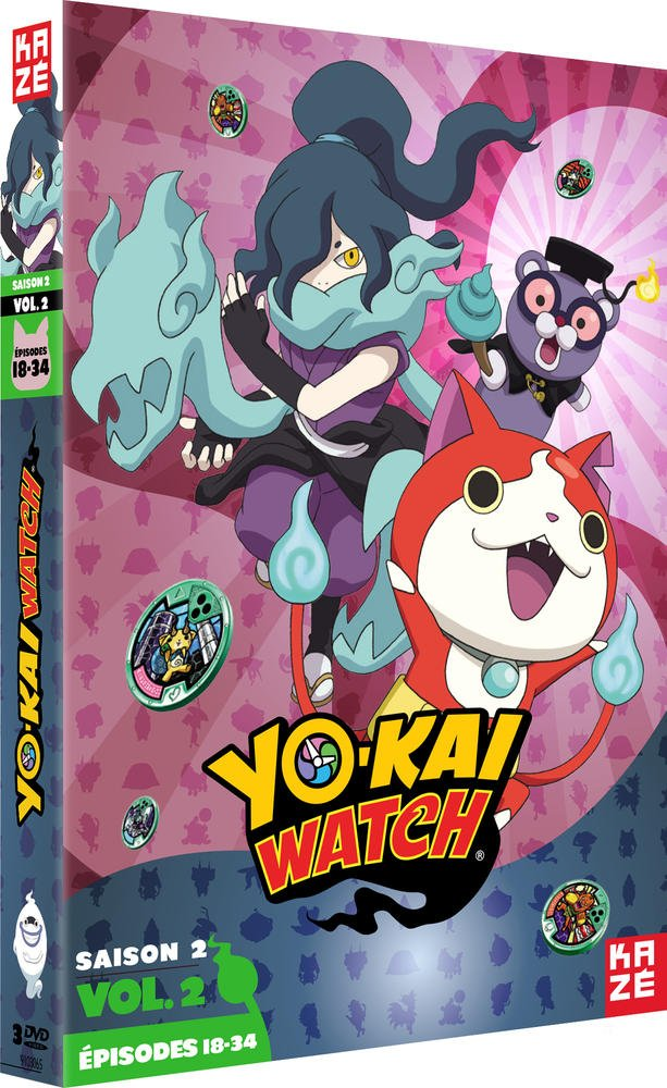 Yo-kai Watch - Saison 2, Vol. 2/3 [Francia] [DVD]: Amazon.es: Shinji Ushiro: Cine y Series TV