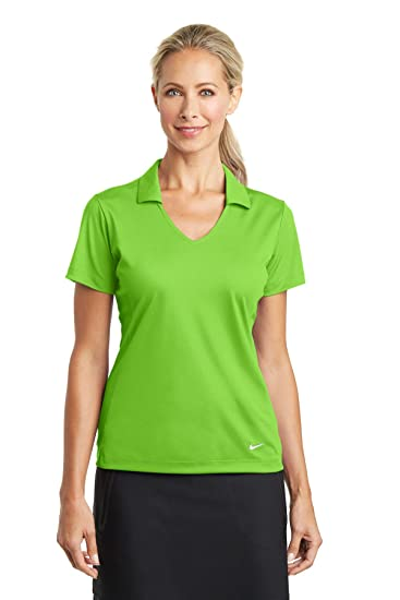 5b895c9e3 Nike Golf Ladies Dri-FIT Vertical Mesh Polo at Amazon Women's Clothing  store: