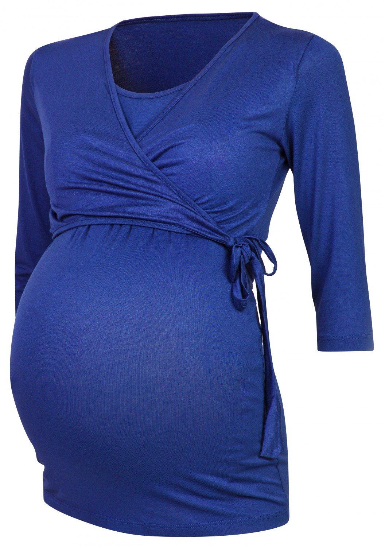 Happy Mama Para Mujer Camiseta premamá y de lactancia. 458p 739856_458