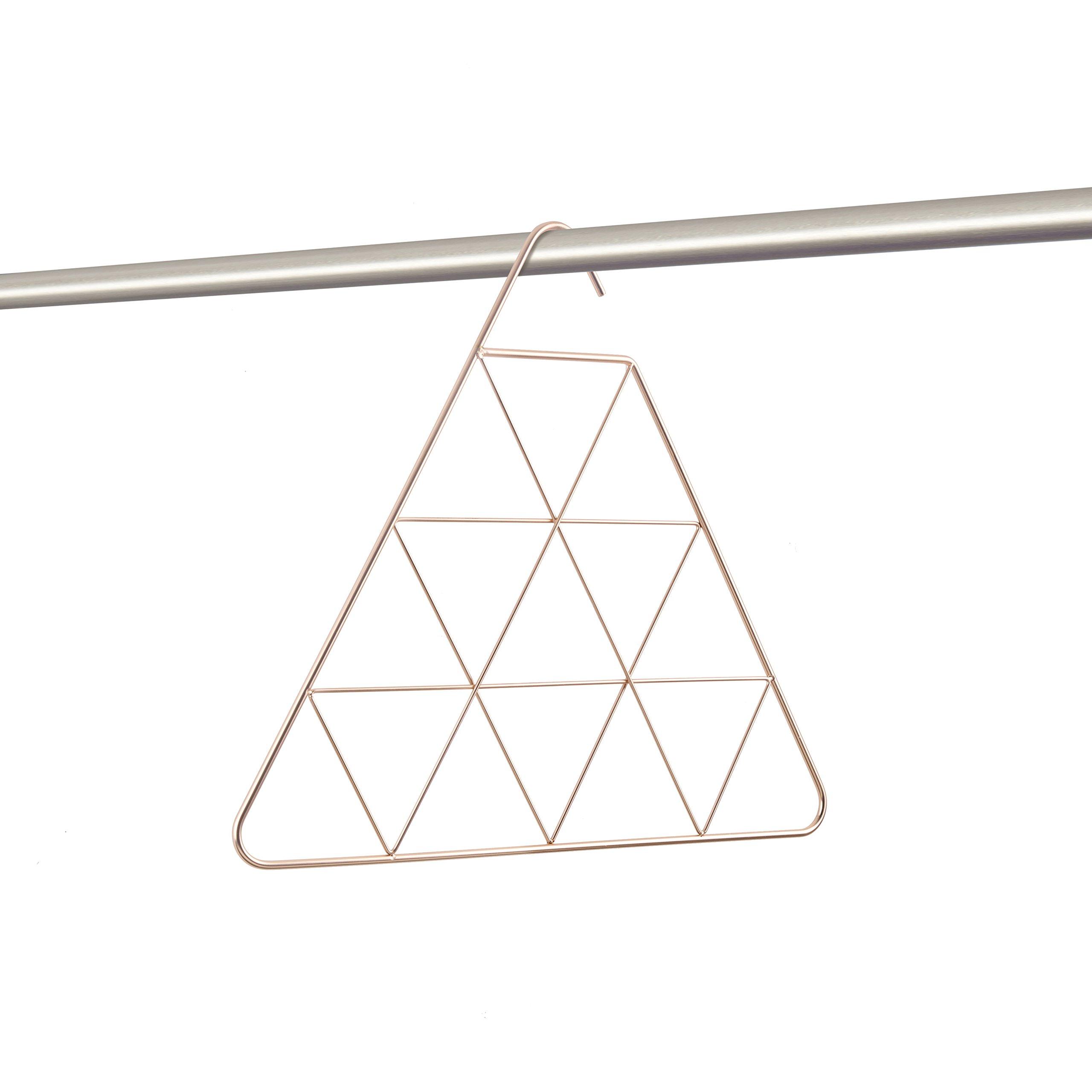 Umbra Pendant Triangular Copper Scarf Hanger/Accessory Hanger, Copper by Umbra (Image #2)