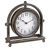 Foreside Home & Garden Round Table Clocks