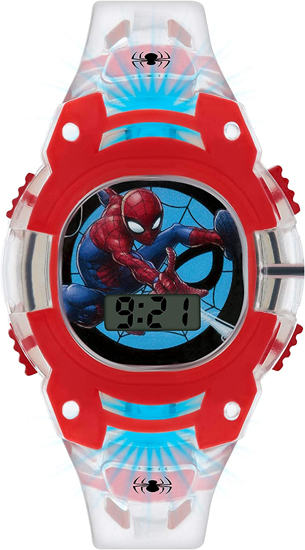 Spiderman Reloj Niños de Digital con Correa en PU SMH4000