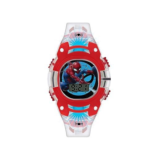 Spiderman Reloj Niños de Digital con Correa en PU SMH4000: Amazon.es: Relojes