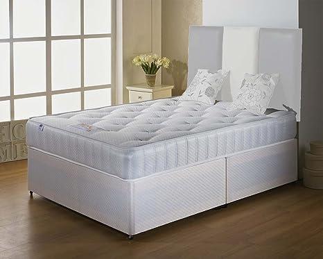 Luxan classico singolo testiera letto set no senza cassetti