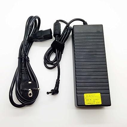Adaptador Cargador 120W Nuevo y Compatible con portátiles MSI Asus Fujitsu Lenovo Series 19v 6,