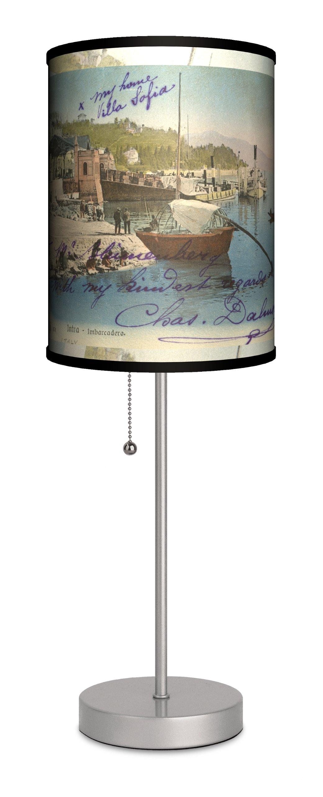 Travel - Villa Sofia Sport Silver Lamp