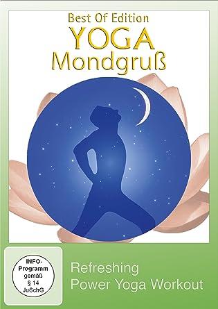 Yoga Mondgruß - Refreshing Power Yoga Workout Alemania DVD ...