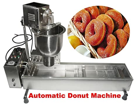Amazon.com: Comercial Donut Maker Auto Donut Panificadora ...