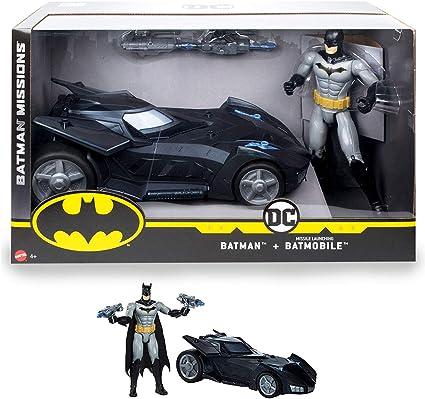 DC Comics Batman Missions Missile Launcher Batmobile Toy Vehicle NEW