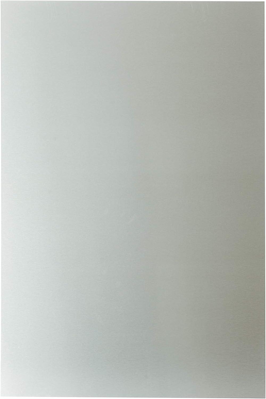 sptd ALU Brosse Plaque Aluminium Composite 80cm x 120cm Panneau 80120 CM