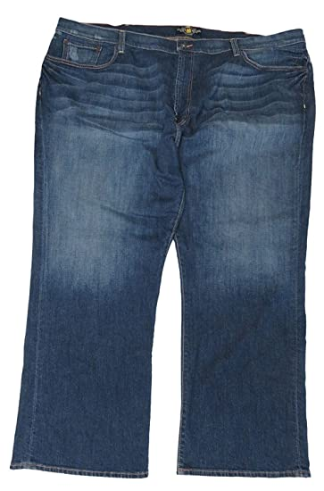 f496122c Image Unavailable. Image not available for. Color: Lucky Brand Men's181 Relaxed  Straight Blue Jeans ...