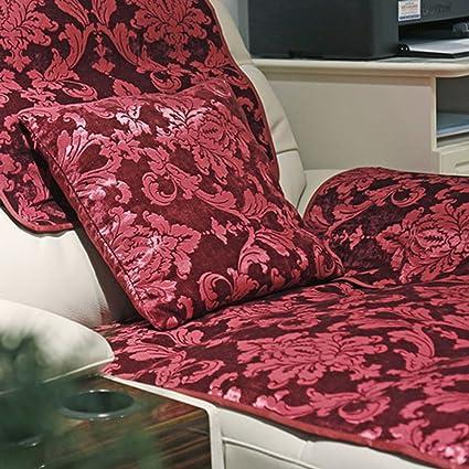 Amazon.com: KFHIWUEHPJHD European Jacquard Sofa slipcovers ...