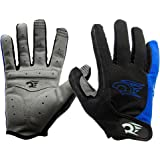 West Biking Men's Spring Autumn Full Finger Bike Gloves Bicycle Cycling Glove Come with a West Biking Key Chains
