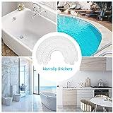 EasyGO Non-Slip Bathtub Shower Stickers,Anti-Slip