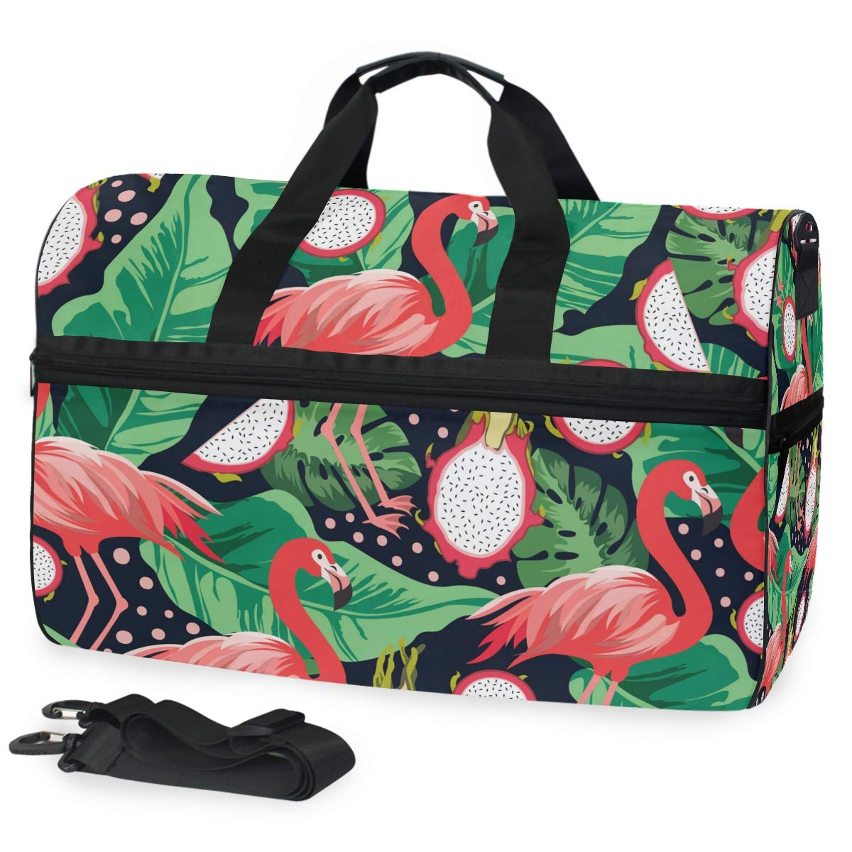 Flamingo Travel Duffel Bag Waterproof Fashion Lightweight Large Capacity Portable Luggage Bag