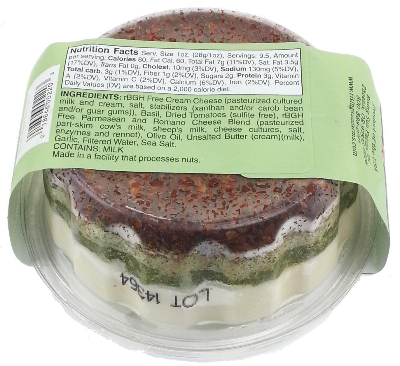Pesto Dried Tomato Cheese Torta (3 pack)