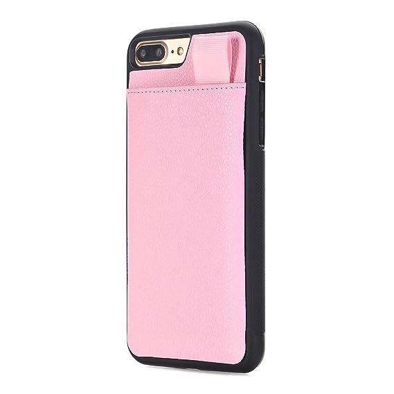size 40 db7ca ef314 Amazon.com: iPhone 7 Plus Wallet Case, iphone 8 Plus Case Leather ...