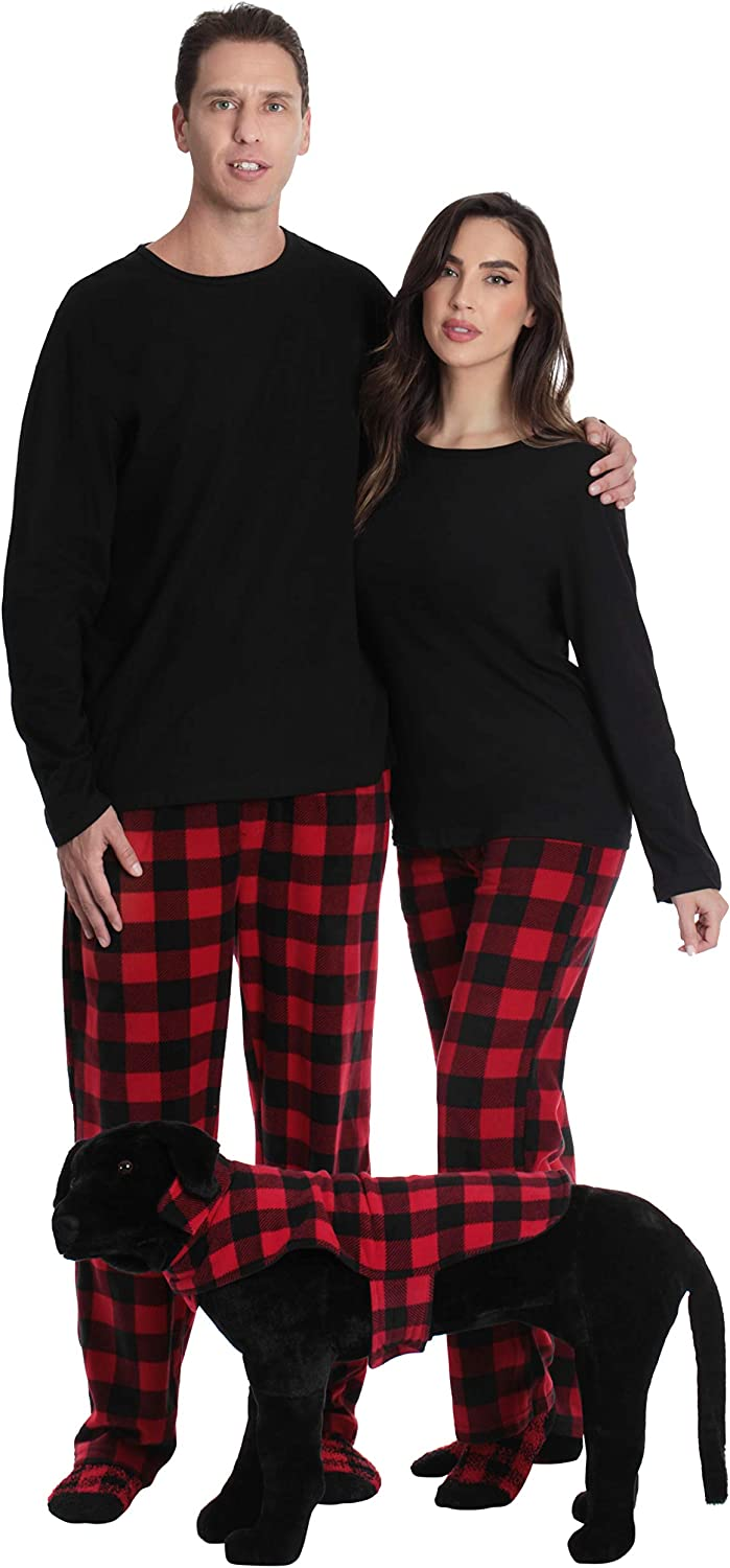 Followme Matching Pajamas For Couples Dog And Owner Buffalo Plaid At Amazon Men S Clothing Store