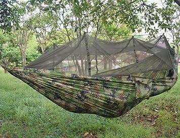 ultralight outdoor camping hunting mosquito   parachute hammock 2 person flyknit hammock garden hammock hanging bed amazon     ultralight outdoor camping hunting mosquito        rh   amazon