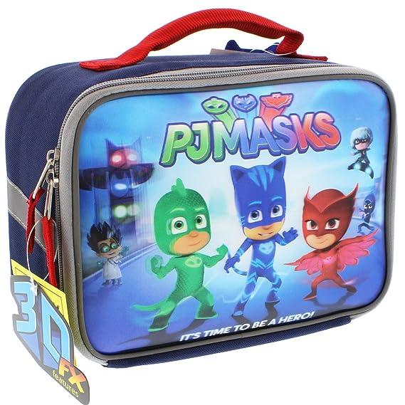 Amazon.com: PJ Máscaras 14 inch Mochila y el almuerzo Box ...