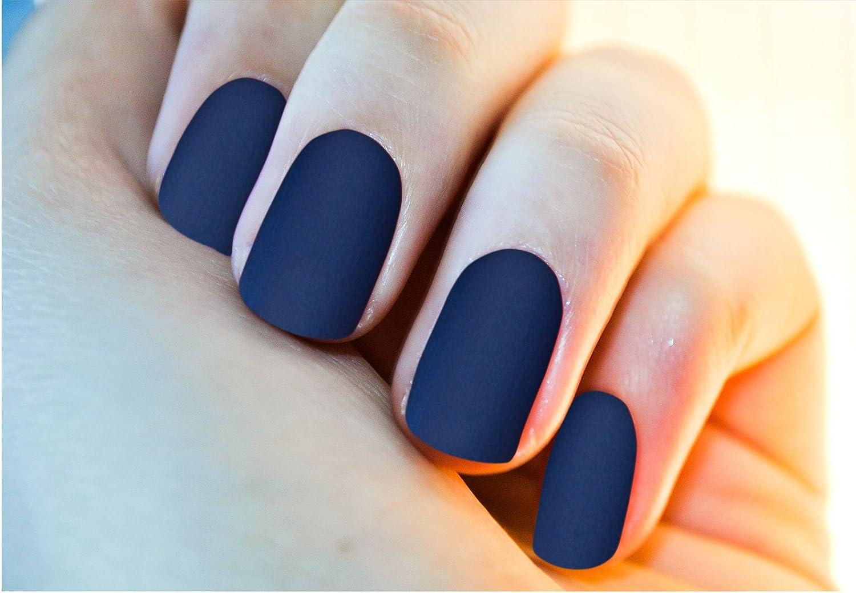Buy COLOR N STYLE Matte Texture Nail Paint (Dark Blue, MT 19) Online ...
