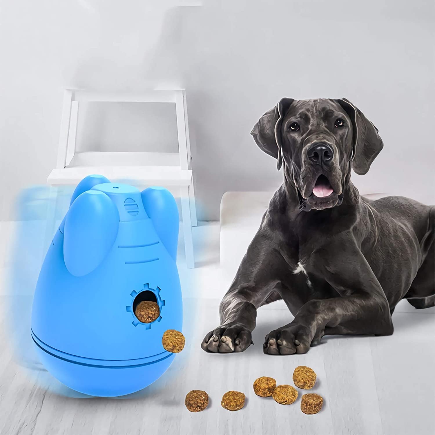 Treat Dispensed Dog Toys , Educational Toys for Large and Medium-sized Dogs, IQ Dog Hospitality Balls, Aggressive Chews, Dog Food Dispenser Toys Strong and Sturdy