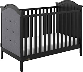 Storkcraft Graco Linden Upholstered 3-in-1 Convertible Crib