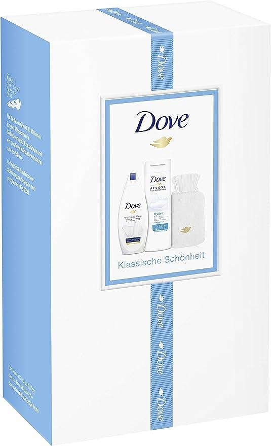 Dove Gel de Ducha (2 Pack de regalo con agua caliente Reich ...