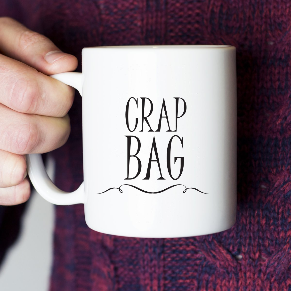 Princess Consuela Banana Hammock & Crap Bag Couples Funny Coffee Mug Set 11oz - Friends TV Show Quote - Central Perk - Unique Gift For Boyfriend and Girlfriend - His and Hers Anniversary Present by Gelid (Image #3)