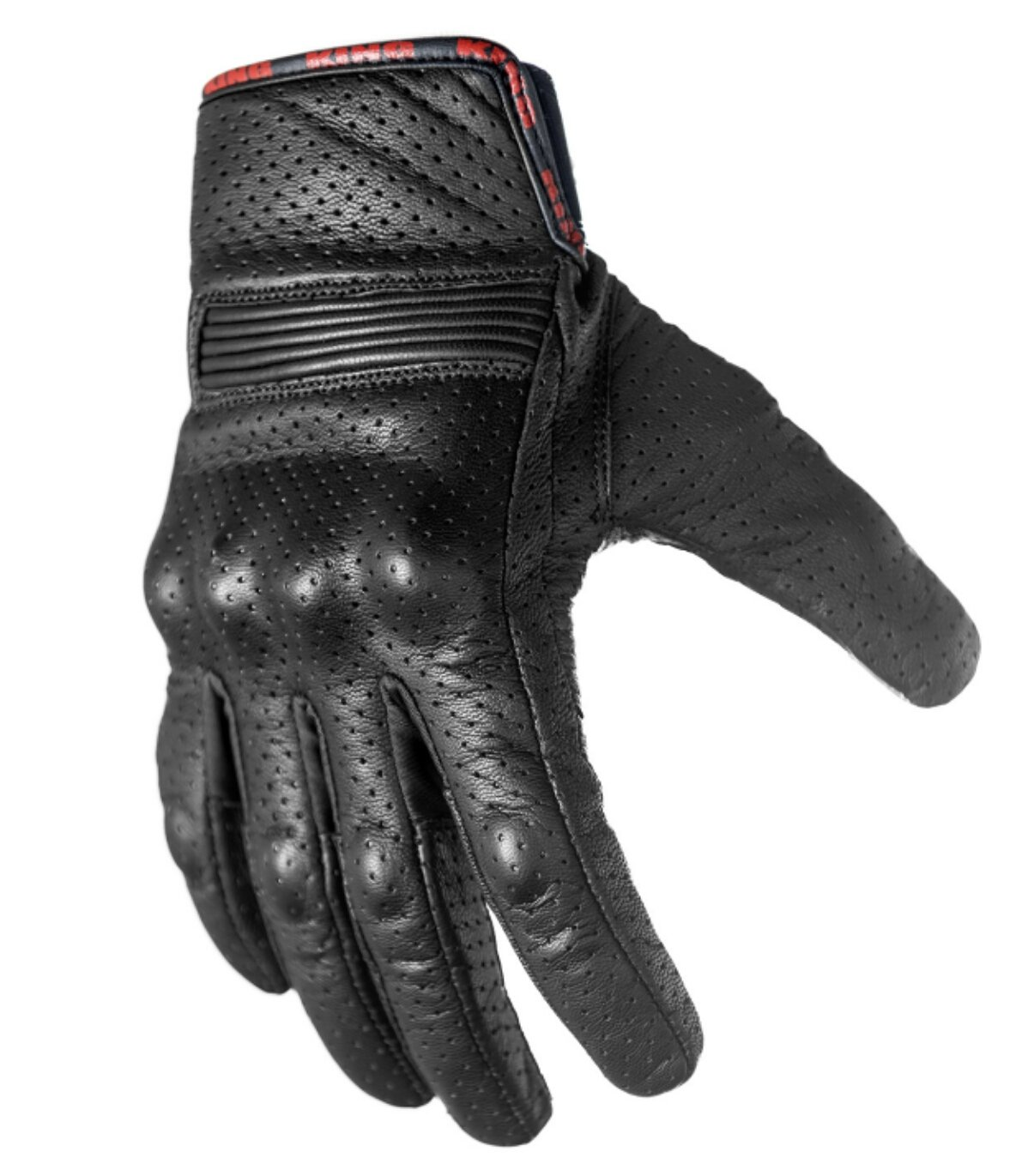 Motorcycle Biker Gloves Black Premium Leather | Padded All Weather Feature for Men and Women | Breathable Moisture Wick Air Flow Technology Between Fingers | SWIFT (Black-2X)