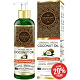 Morpheme Remedies Cold Pressed Organic Virgin Coconut Oil, 120ml
